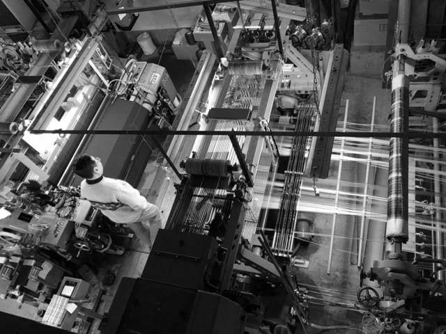米沢織工場撮影