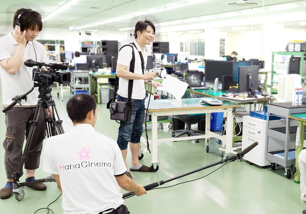 米沢での映像制作・プロモーションビデオ制作撮影