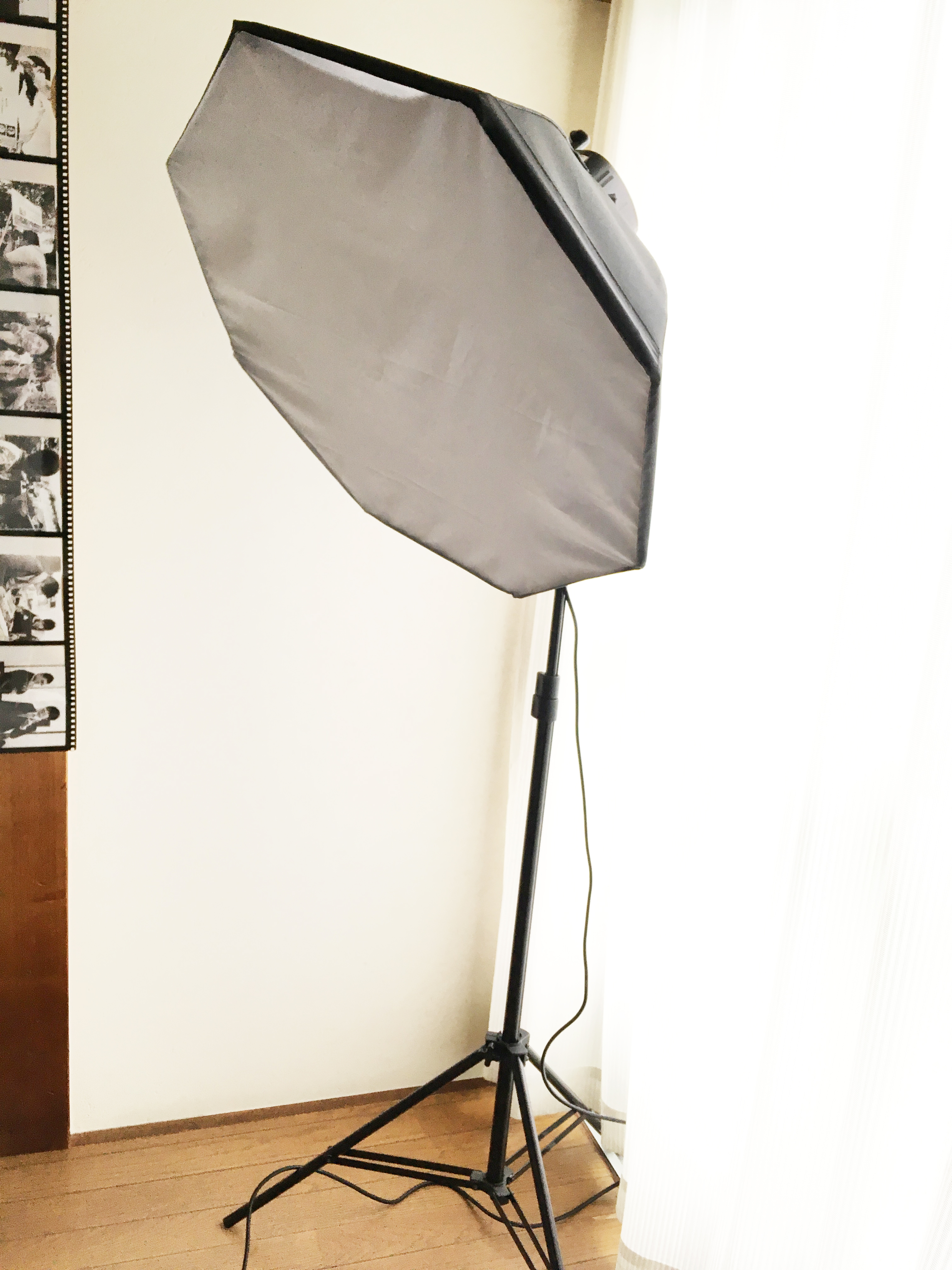 写真撮影用スタンドライトレンタルします