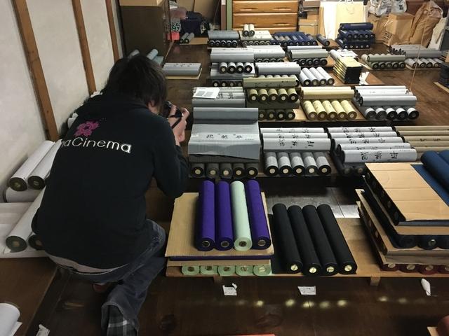 米沢織蔵の撮影