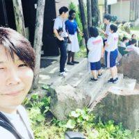 ビデオ撮影九里学園グローバル授業