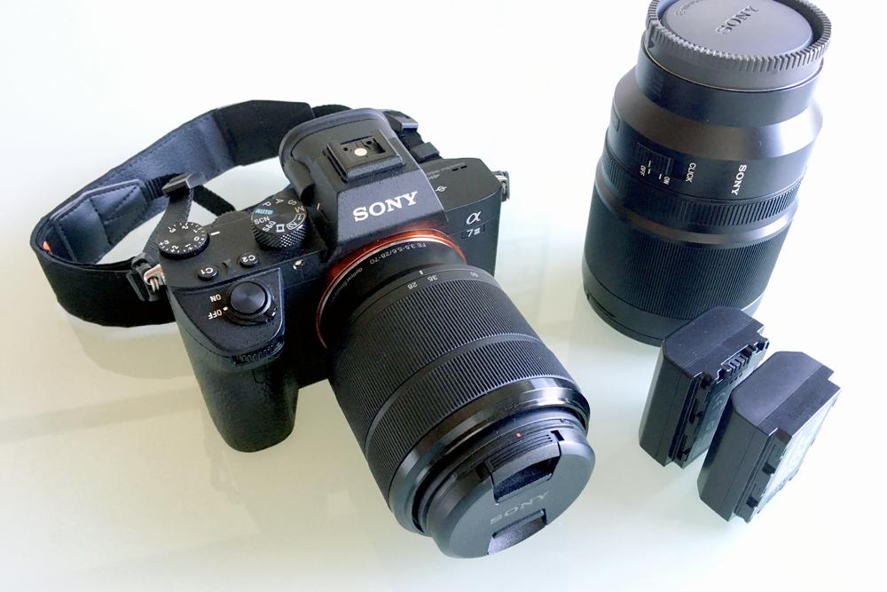 デジタル一眼レフカメラ(SONY α7iii)
