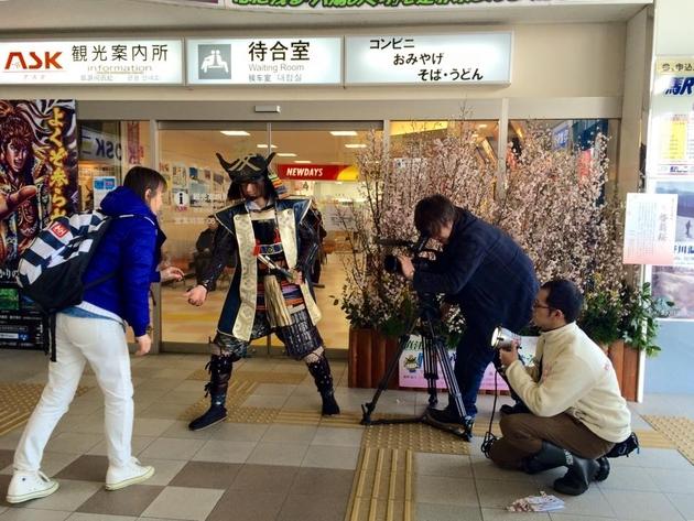米沢市インバウンド観光PR動画撮影