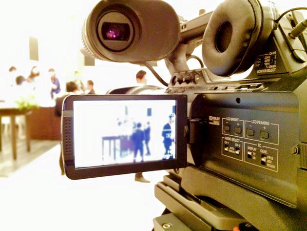 結婚式での記録動画撮影