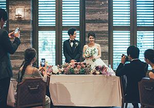 結婚式場で流した市販楽曲もそのまま使える
