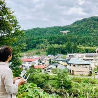 ドローン撮影@山形県米沢市小野川温泉