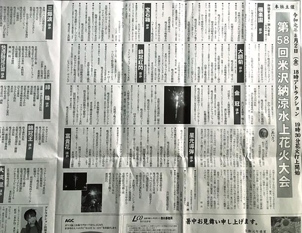 米沢日報記事