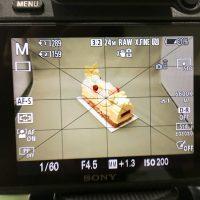 ケーキの写真素材撮影