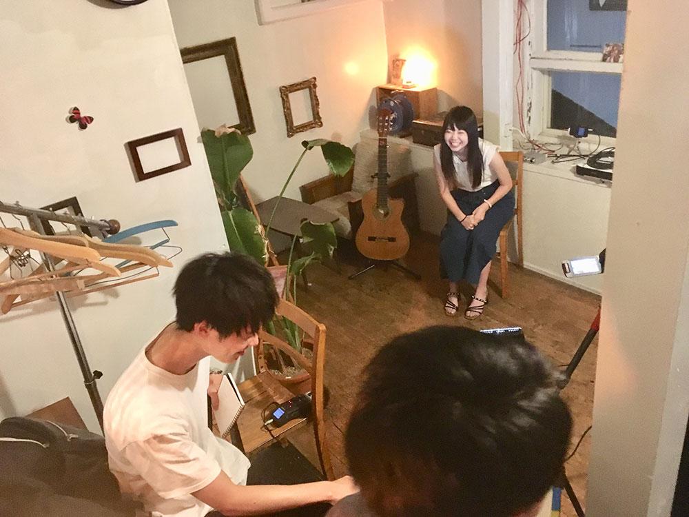 米沢ユーチュー部の撮影風景