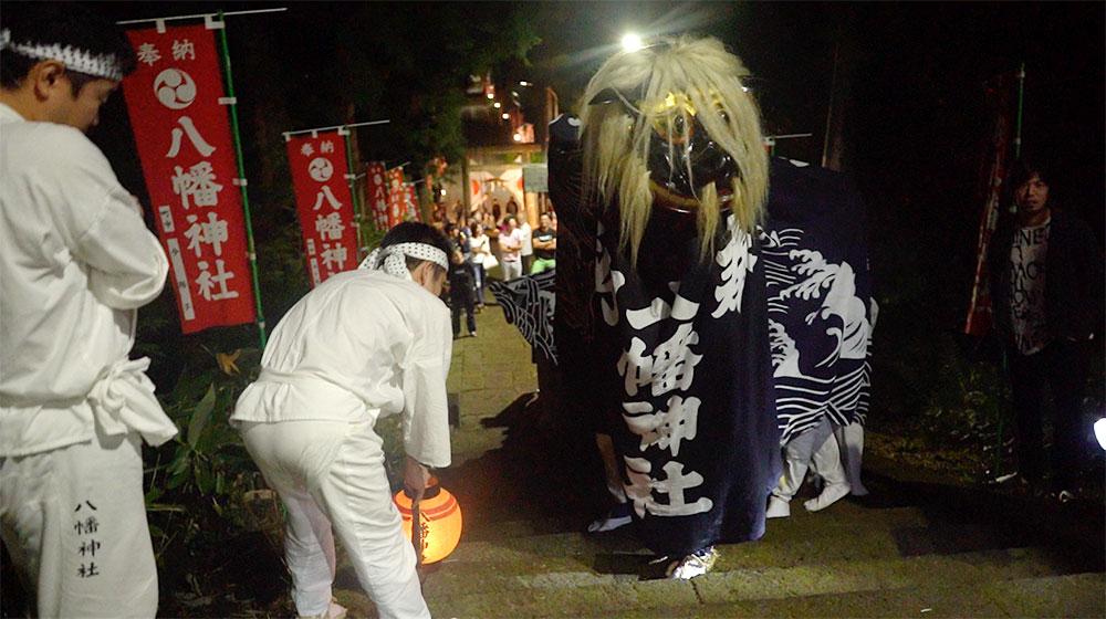 飯豊町手ノ子獅子祭り