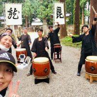 米沢藩上杉家廟所での撮影